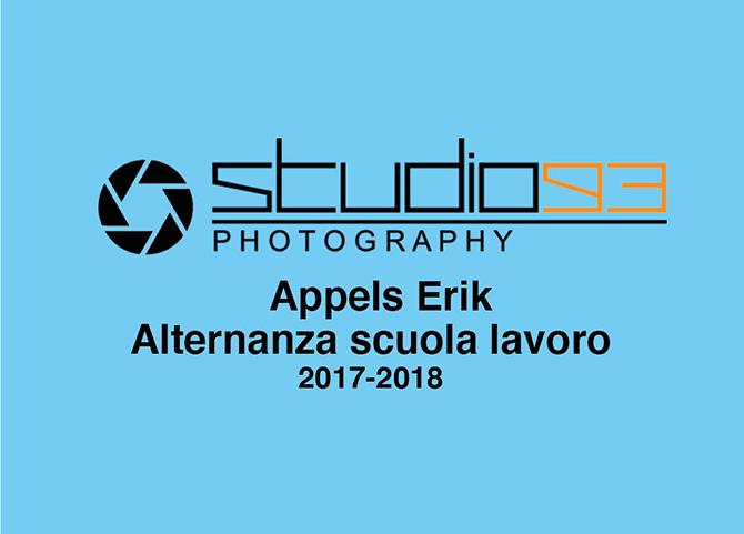 Erik Appels - Progettazioni Alternanza Scuola Lavoro - Salesiani Milano