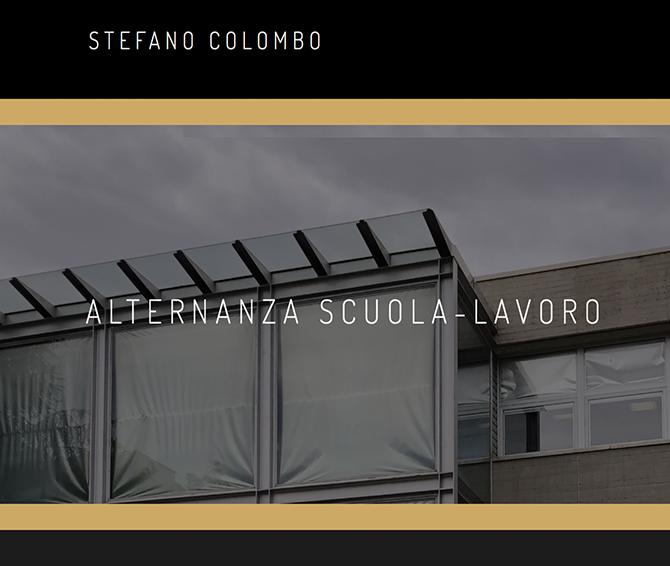 Stefano Colombo - Progettazioni Alternanza Scuola Lavoro - Salesiani Milano