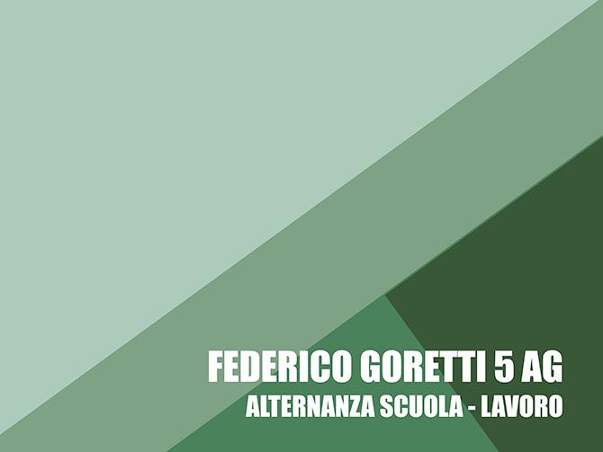 Federico Goretti - Progettazioni Alternanza Scuola Lavoro - Salesiani Milano