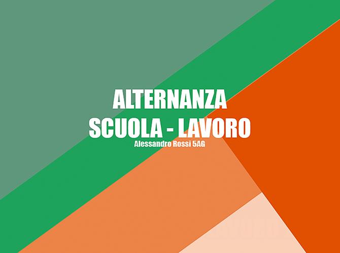 Alessandro Rossi - Progettazioni Alternanza Scuola Lavoro - Salesiani Milano