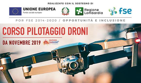 Corso Pilotaggio Droni novembre 2019 cnos/fap Milano - Salesiani Milano