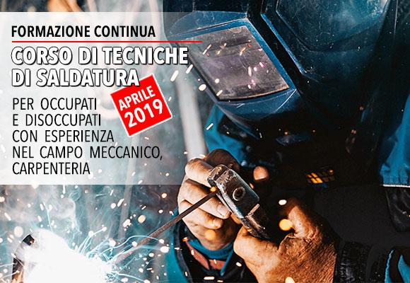 Formazione Continua: Corso di tecniche di saldatura - Salesiani Milano