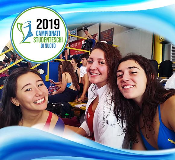 Campionati studenteschi di nuoto 2019 - Salesiani Milano