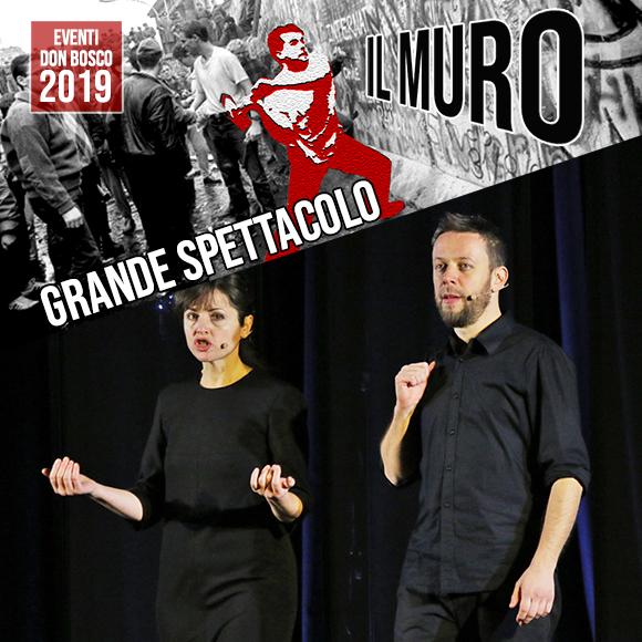 Eventi Don Bosco 2019: spettacolo teatrale Il Muro - Salesiani Milano