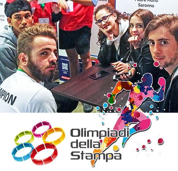 Olimpiadi della Stampa 2019 - CFP don Bosco Milano dei Salesiani Milano