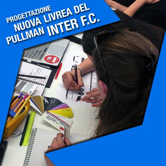 Concorso per la progettazione nuova livrea del pullman Inter Calcio - Salesiani Milano