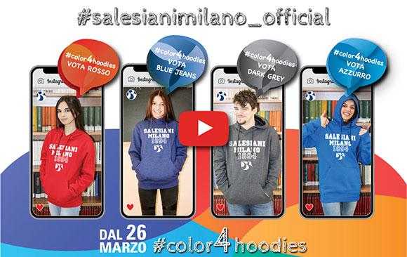 #salesianimilano_official #color4hoodies - Salesiani Milano