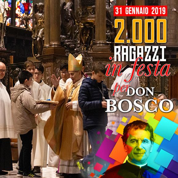 Festa di San Giovanni Bosco 2019 Istituto Salesiano S. Ambrogio Milano