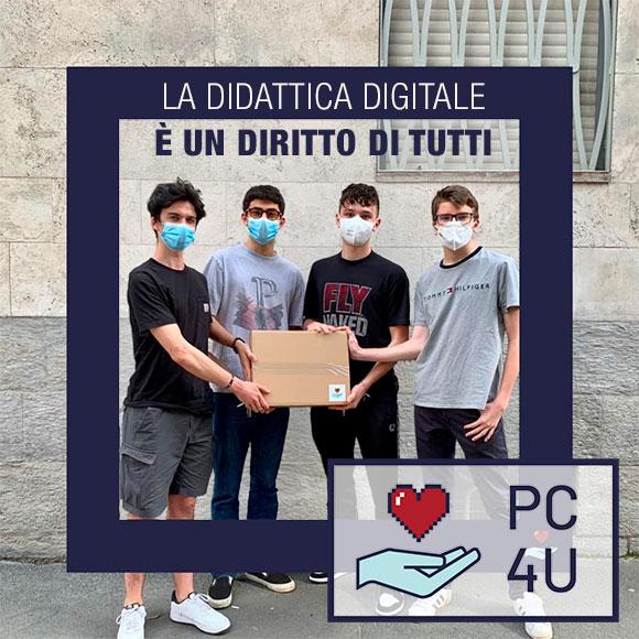 PC4U.TECH donare PC o TABLET a chi ne ha bisogno - Istituto Salesiano S. Ambrogio Opera don Bosco Milano - Salesiani Milano