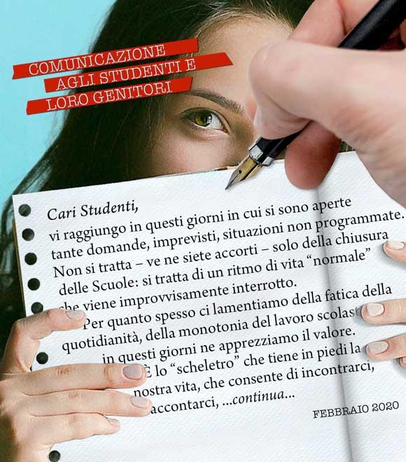 Emergenza coronavirus avviso scuole - Salesiani Milano