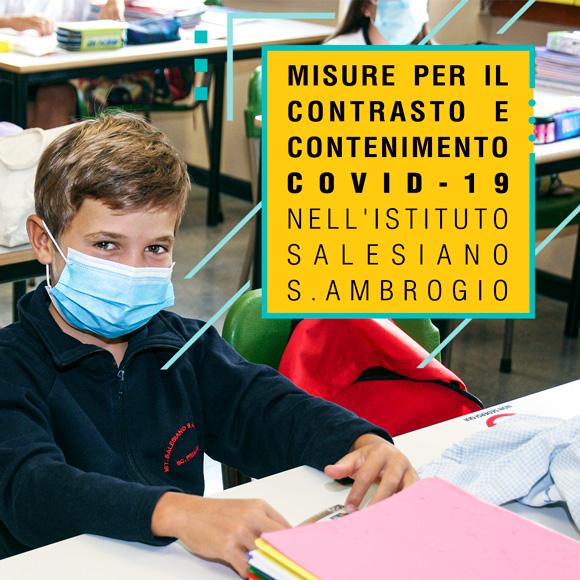 Misure di Contrasto e Contenimento Covid-19 nell'Istituto Salesiano S.Ambrogio - il Direttore Don Renato Previtali - Salesiani Milano