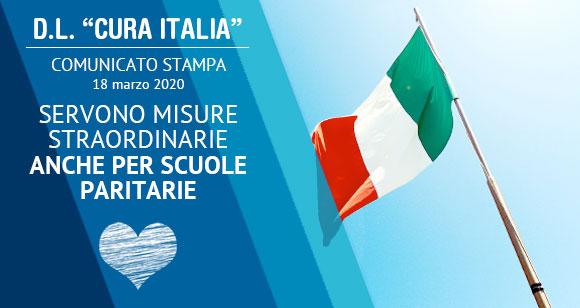 """D.L. """"CURA ITALIA"""" una aiuto alle scuole paritarie - Istituto Salesiano S. Ambrogio Opera don Bosco Milano - Salesiani Milano"""