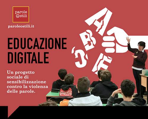 Progetto sociale di educazione digitale paroleostili.it - Istituto Salesiano S. Ambrogio Opera don Bosco Milano - Salesiani Milano