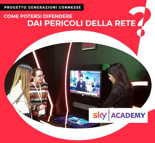 Sky Academy Safer Internet Day 2020 TGSky - Istituto Salesiano S. Ambrogio Opera don Bosco Milano - Salesiani Milano