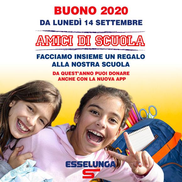 Amici di Scuola Buono 2020 Esselunga - Salesiani Milano