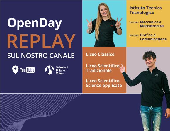 Open Day su YouTube - Salesiani Milano