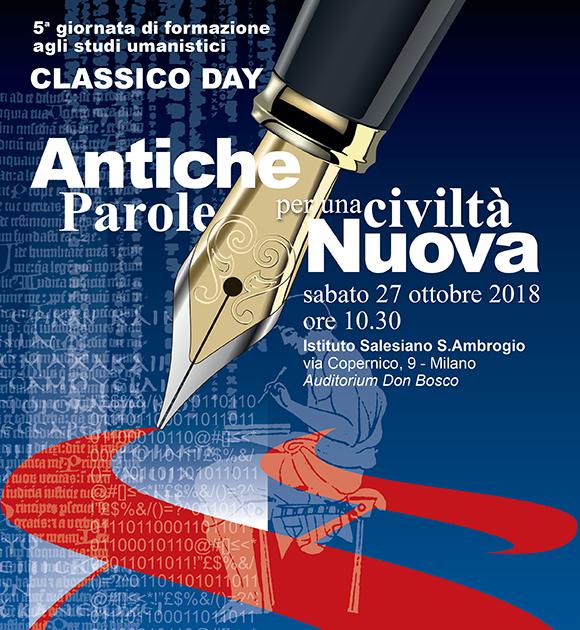 Classico Day 2018 Liceo Classico Istituto Salesiano S. Ambrogio Milano - Salesiani Milano