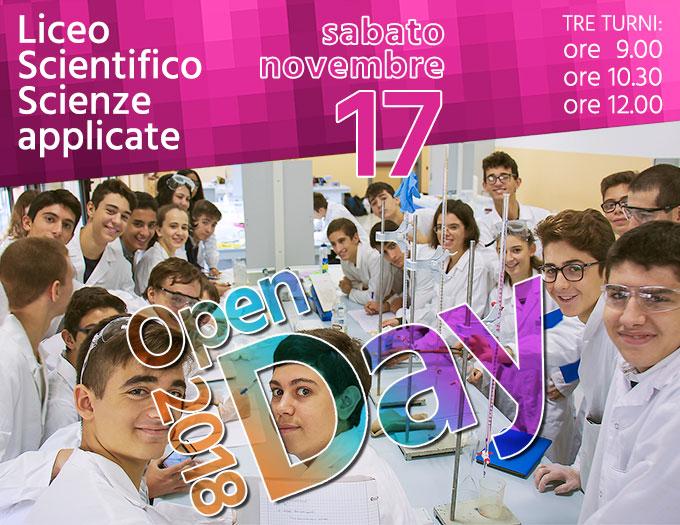 Open Day Liceo Scientifico Scienze applicate Istituto Salesiano Sant'Ambrogio Milano - Salesiani Milano