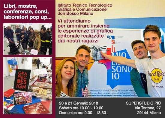Salone della cultura di Milano: mostra di libri - Il Mio Libro Sono Io - Salesiani Milano Istituto Tecnico Tecnologico don Bosco