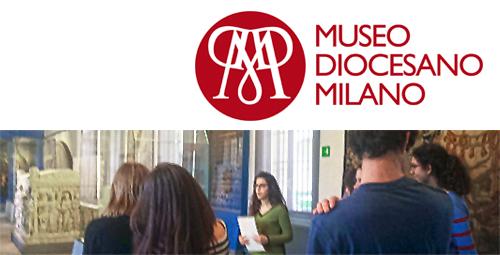 Museo DiocesanoMilano: alternanza scuola lavoro liceo classico e liceo scientifico Istituto S. Ambrogio Milano - Salesiani Milano