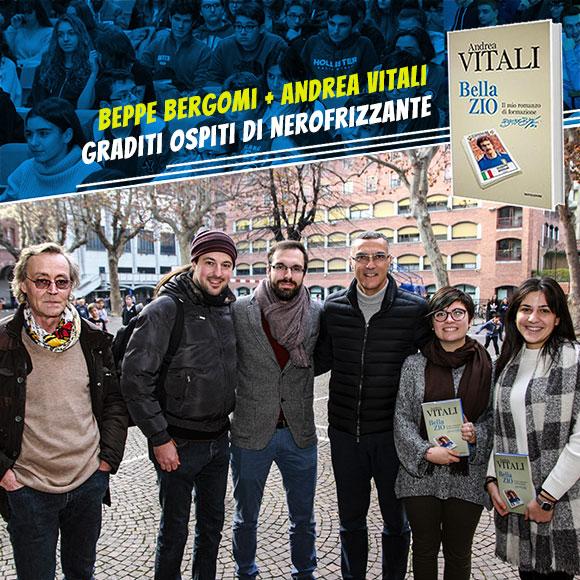 Beppe Bergomi e Andrea Vitali presentano bellazio - Salesiani Milano