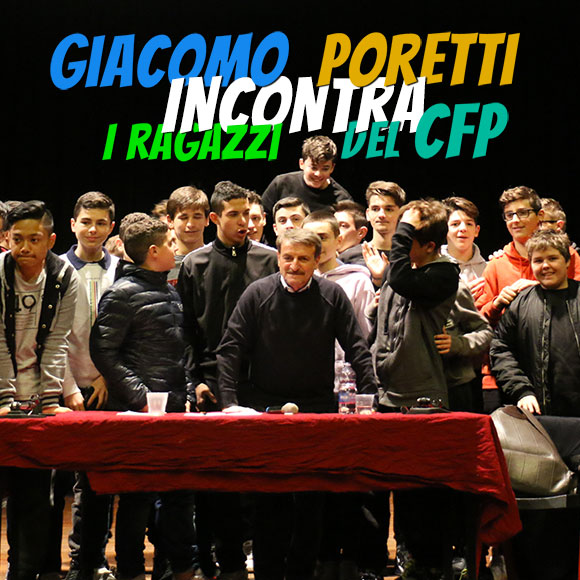 Giacomo Poretti incontra i ragazzi del cfp don Bosco Milano - Salesiani Milano