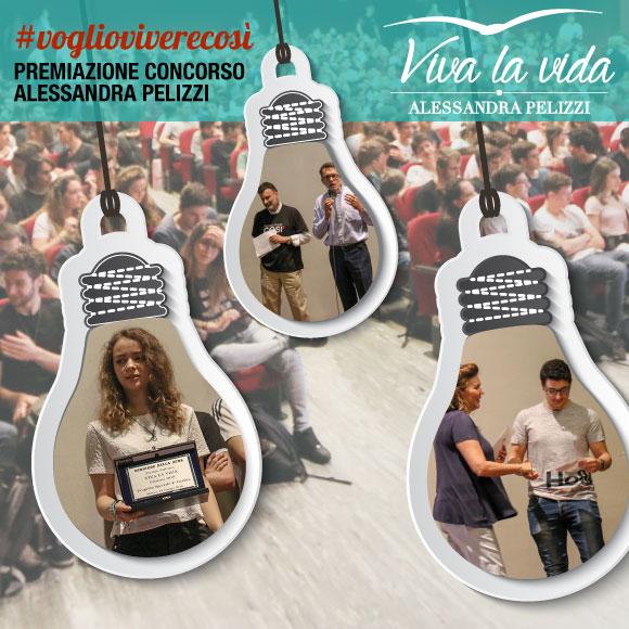 Premiazione Concorso Viva La Vida Alessandra Pelizzi #voglioviverecos' - Salesiani Milano