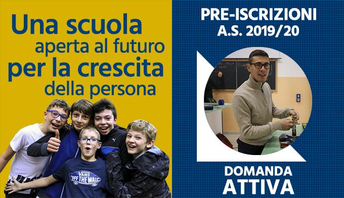 pre-iscrizioni A.S. 2019-20 Istituto S. Ambrogio Milano - Salesiani Milano