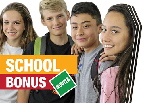 School Bonus: forti agevolazioni fiscali a fronte di erogazioni liberali agli istituti scolastici sia statali che paritari