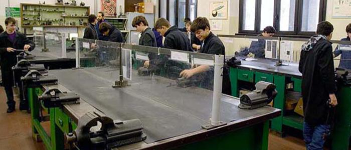 Istruzione e Formazione Professionale settore Meccanico - Scuola don Bosco dei Salesiani Milano - CNOS FAP