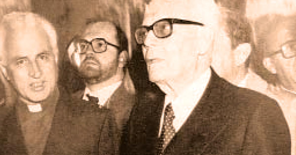 25 aprile 1945: il Presidente della Repubblica Sandro Pertini in visita all'Istituto Salesiano S. Ambrogio