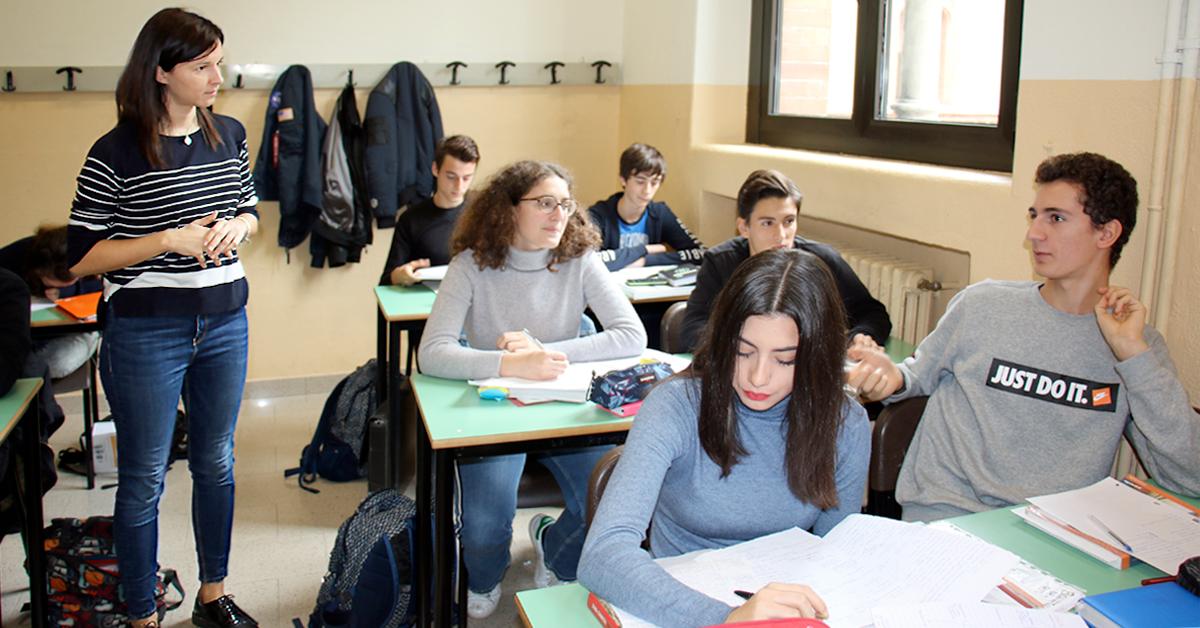 Elena Caselli docente all'Istituto Salesiano S. Ambrogio Milano