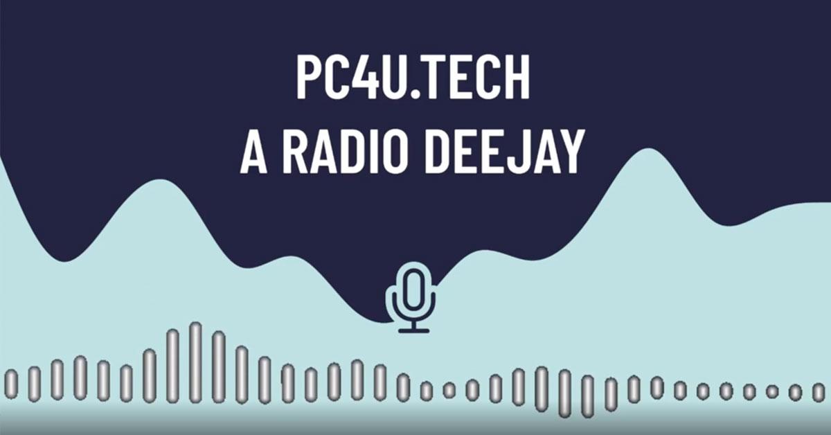 Radio Deejay intervista a Jacopo Rangoni per PC4U