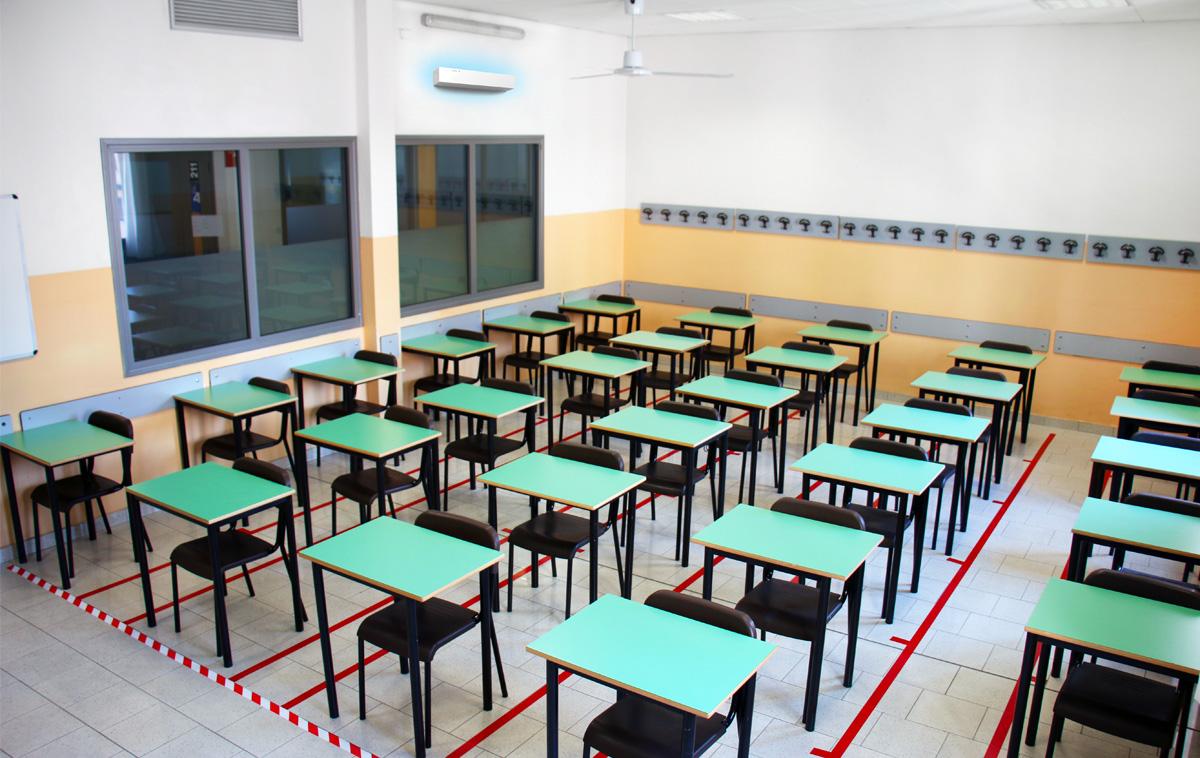 SanificaAria Beghelli nella nostra scuola
