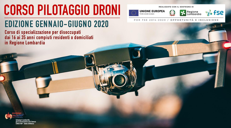Corso Pilotaggio Droni