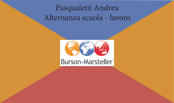 Andrea Pasqualetti - Progettazioni Alternanza Scuola Lavoro - Salesiani Milano