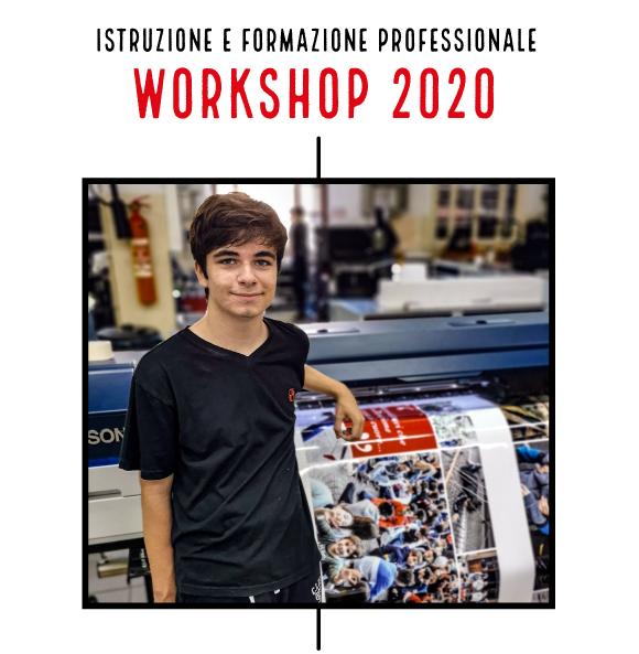 WorkShop 2020 CFP Centro di Formazione Professionale - Salesiani Milano