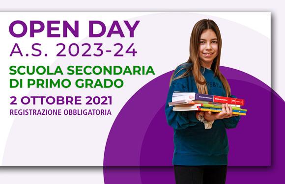open day 2021 Scuola Media - Salesiani Milano