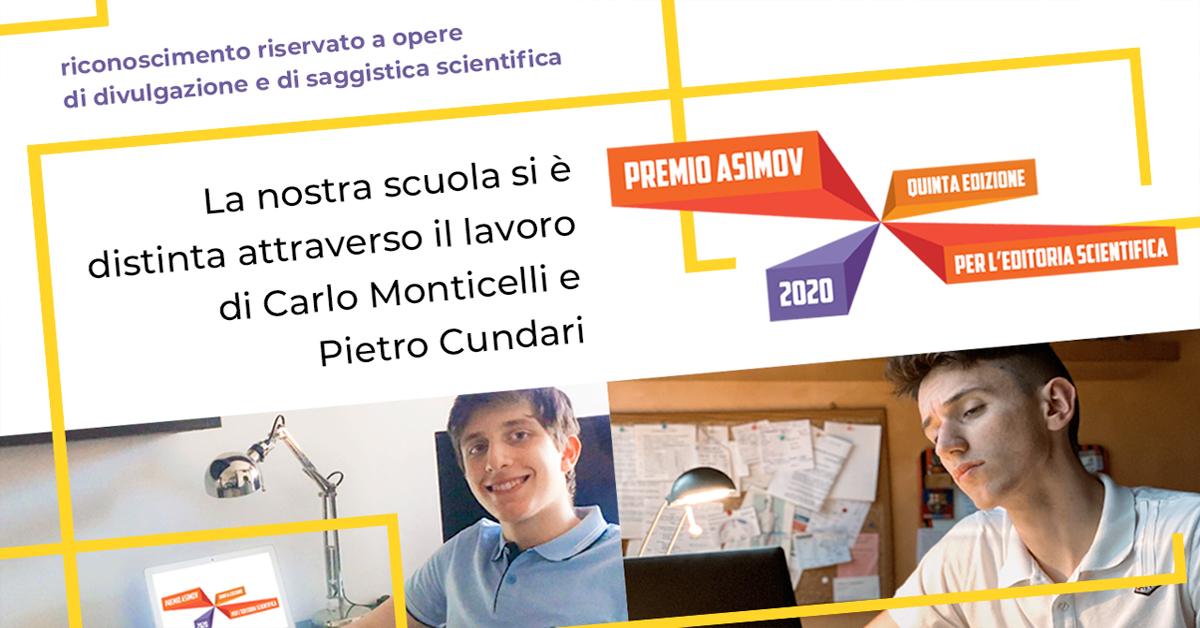 Premio Asimov 2020 - Salesiani Milano