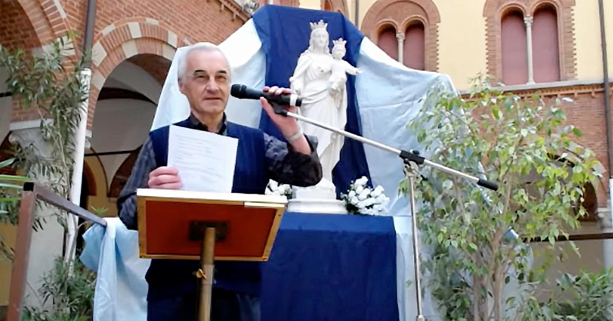 Don Renato Previtali Direttore dell'Istituto Salesiano S. Ambrogio Opera don Bosco Milano