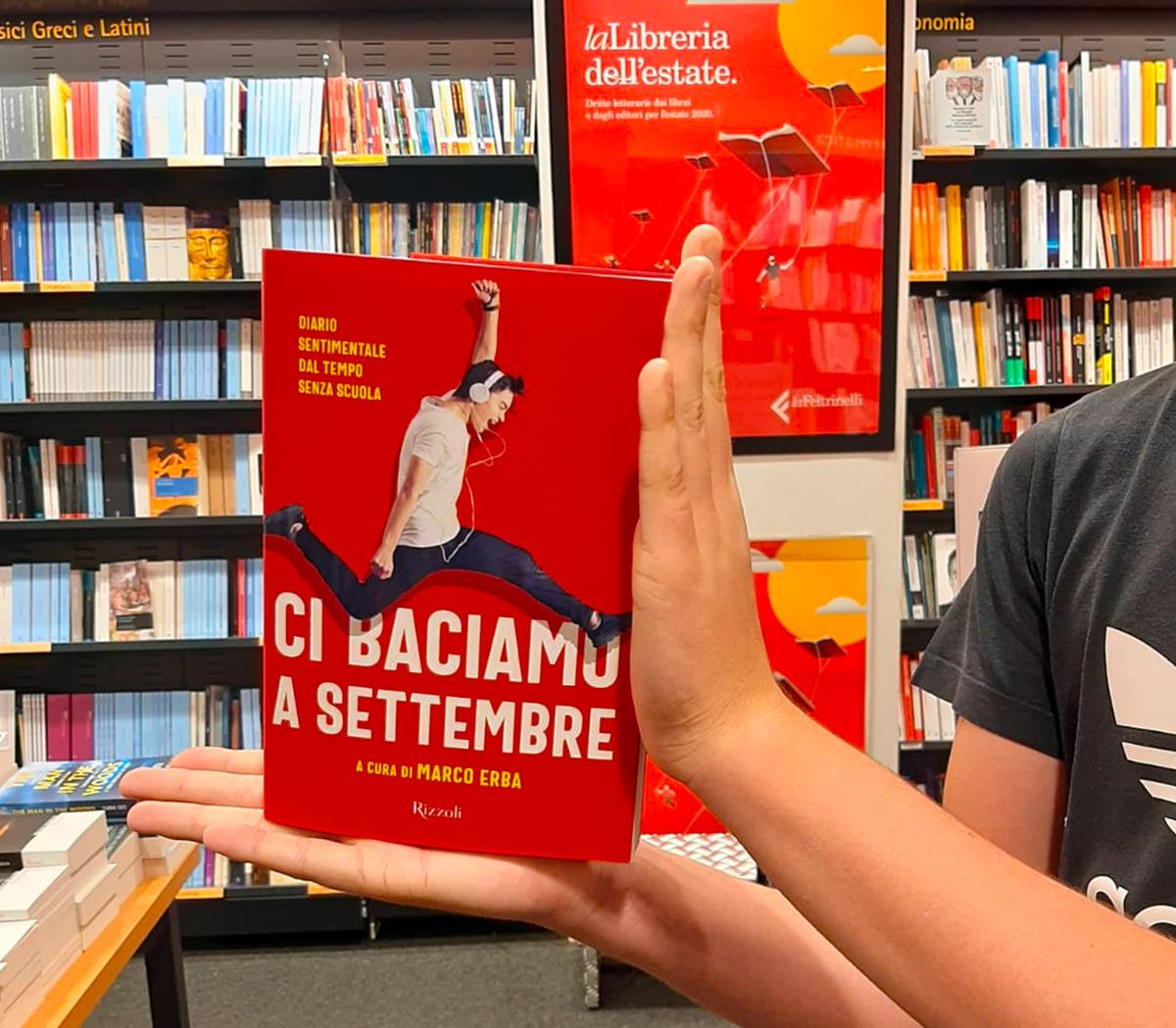 Marco Erba scrittore e professore all'Istituto Salesiano S. Ambrogio Milano