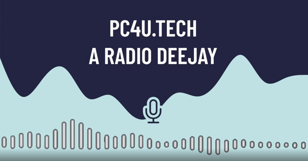 Radio Deejay intervista a Jacopo Rangoni per PC4U - Salesiani Milano