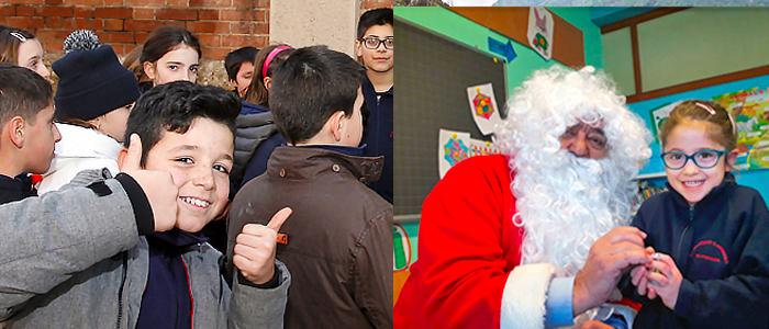 Natale a Scuola Primaria Istituto Salesiano S. Ambrogio Milano