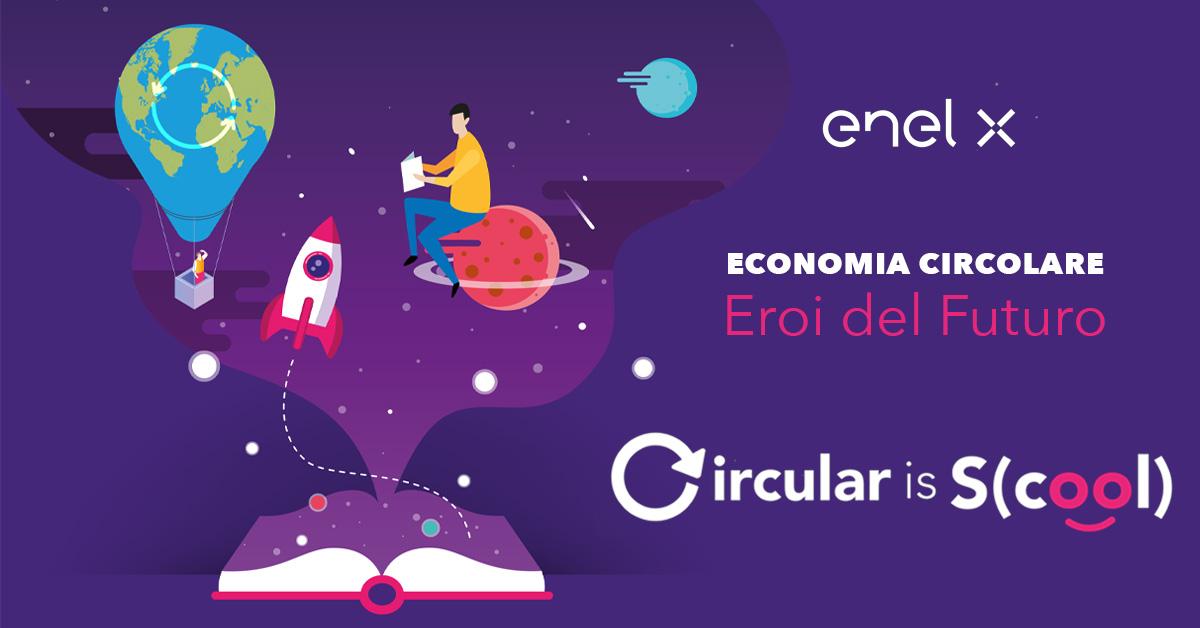 Progetto Enel X #circulariscool - Salesiani Milano