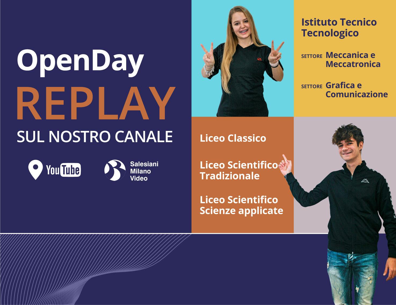 Open Day Scuole Superiori su Youtube - Salesiani Milano