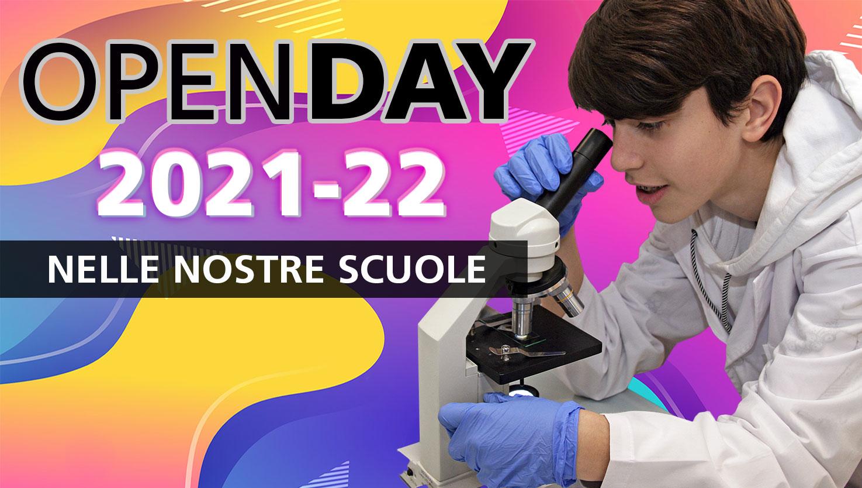 open day 2021-22 scuola Salesiani Milano