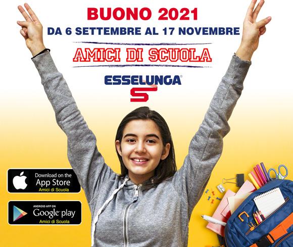 Amici di scuola 2021 Esselunga - Salesiani Milano
