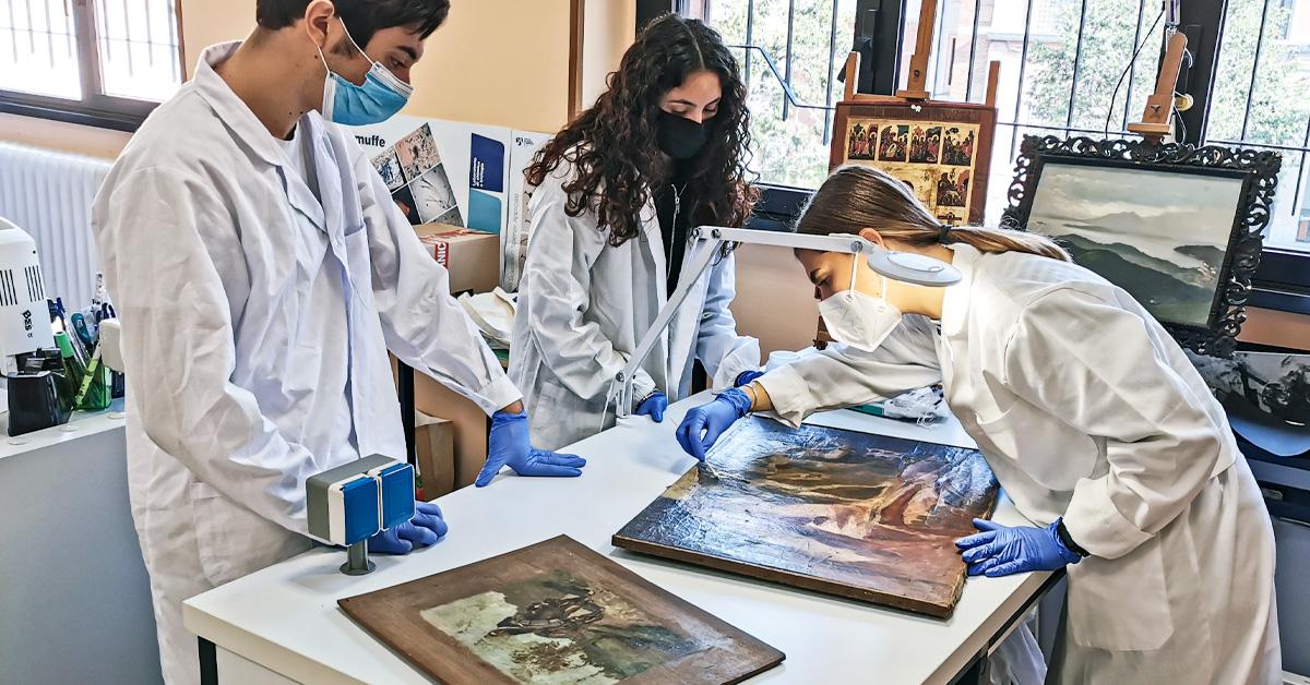Laboratorio di restauro e conservazione - Salesiani Milano